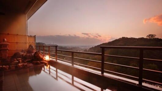 新潟ラーメンのついでに絶景の温泉はいかが? 越後平野の夕景と山海の味覚に癒される湯田上温泉「ホテル小柳」