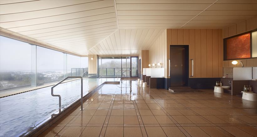 ↑大浴場は翌朝10時まで利用可能