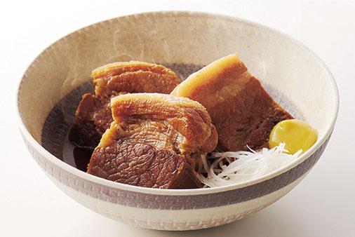 ↑本機で調理した豚の角煮