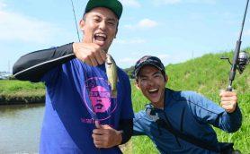 「一人だけ釣れない」大ピンチで奇跡が!? IWGP王者オカダ・カズチカ「バス釣り名人」と霞ヶ浦に挑む!