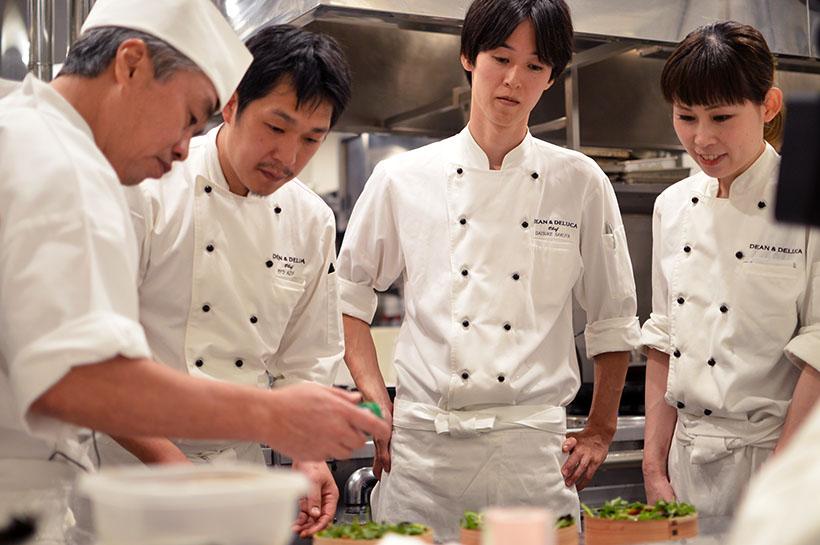 ↑神田さん直伝の調理指導も行われました