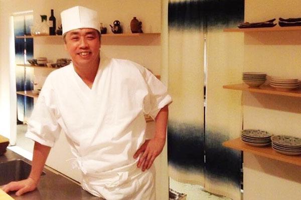 ↑日本料理界の至宝・神田裕行さん。2004年、東京・元麻布に「かんだ」を開店。2017年9月現在、ミシュランガイド東京において10年連続で三つ星を獲得しています