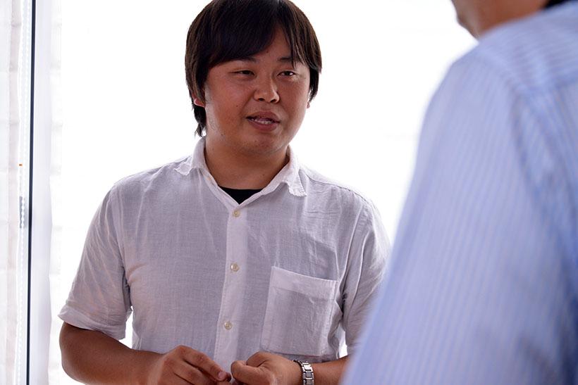 ↑株式会社TENの梶谷高男代表
