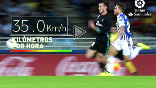 時速35km! レアル・マドリーのスピードスターが見せた「超加速ゴール」がスゴイ