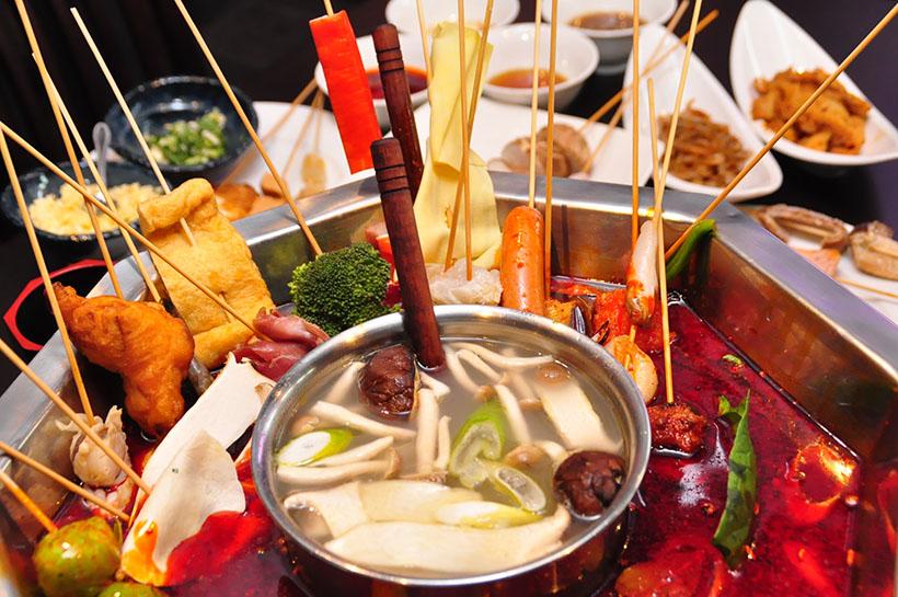 ↑筆者がかつて取材した「大重慶 麻辣燙 新宿店」のマーラータン