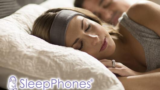 """いままでの""""寝ホン""""とは別次元の装着性! ヘッドバンド型の睡眠用ヘッドホン「SleepPhones」"""