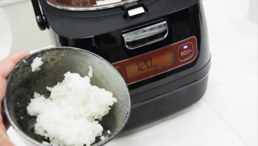 アイリスの好調ぶりを象徴する新作だ! よそったごはんのカロリーを表示する前代未聞の炊飯器