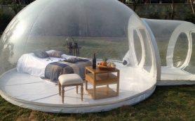 なんだこのテントは!!! 海外で話題沸騰中の新感覚テント「Traft」と「Bubble Tent」