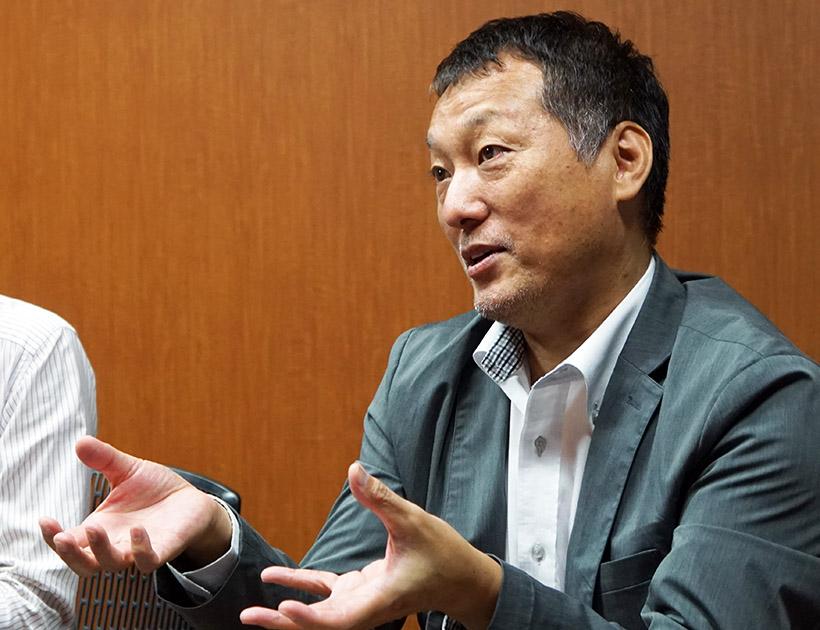 ↑ティアック コンシューマー オーディオ ビジネスユニット 企画・販売促進課の加藤課長