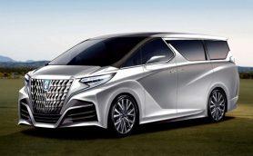 【スクープ】これが次期型「アルファード」? トヨタの新型ミニバンコンセプトとはいったい!?