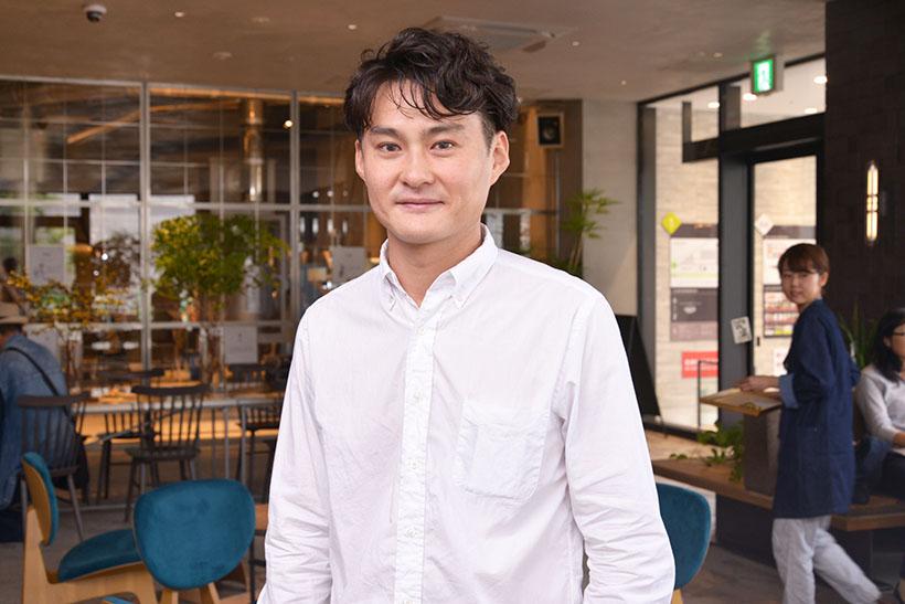 ↑「猿田彦珈琲」代表取締役の大塚朝之さん