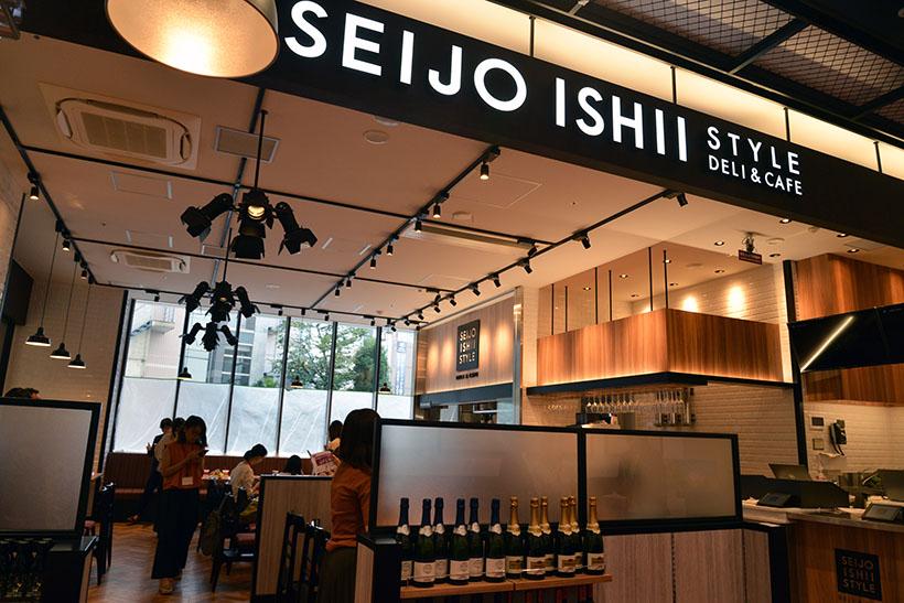 ↑「SEIJO ISHII STYLE DELI & CAFE」の外観