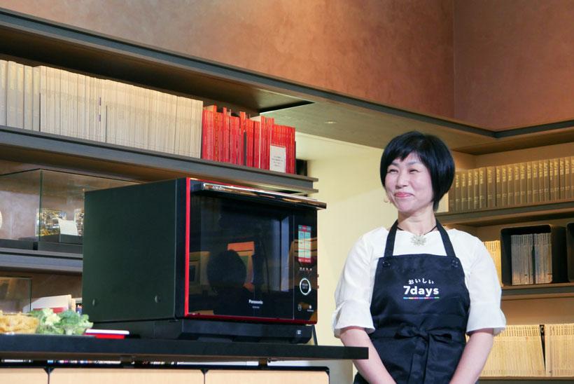 ↑料理研究家・かわごえ直子さん