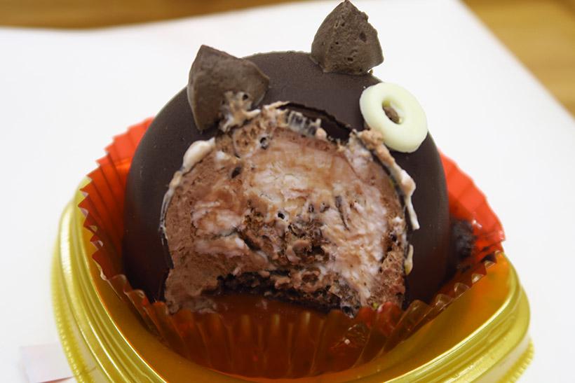 ↑「チョコクリームとえびすかぼちゃケーキ」は、ジャック・オー・ランタンがモチーフ。北海道産のえびすかぼちゃを使用し、チョコチップ入りのチョコクッキーでザクザクの食感を楽しめる