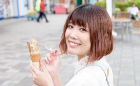 東名高速はアイス好きの楽園だった! サービスエリアの名物アイスを声優・前田玲奈が食べまくる