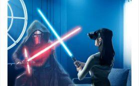 本当に「ライトセーバー」で戦っているような感覚! ARゲーム「Star Wars/ジェダイ・チャレンジ」をCEATECで体験