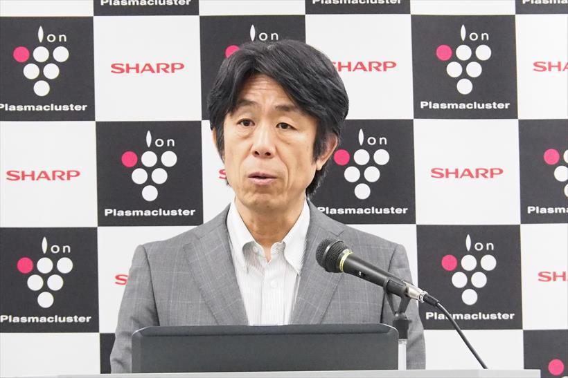 ↑空調・PCI事業部の冨田昌志副事業部長