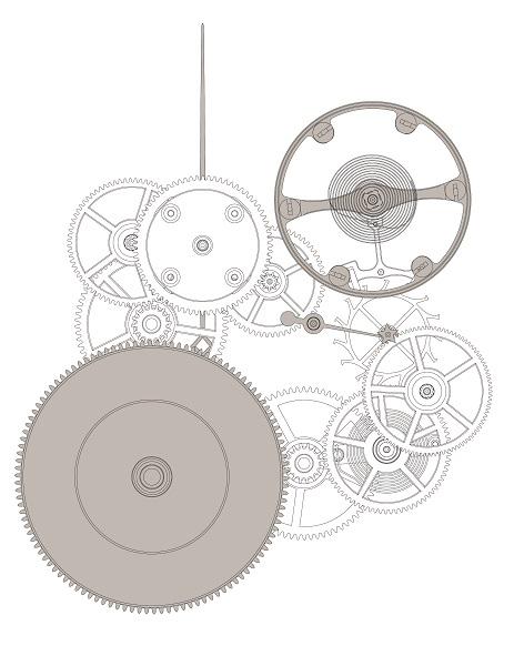 ↑イラストでもジャンピングセコンド機構の複雑な仕組みが理解できる