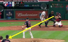 ヤンキースを追い詰めた超プレー! ブラジル人捕手の牽制球が完全に「ロべカル級」