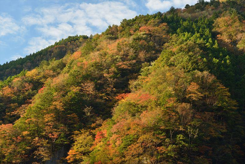 ↑サイドからの光によって、山の斜面に陰影ができている。サイド光は平面の写真で風景を立体的に描き出せるため、広い風景を撮るのに適した光だ