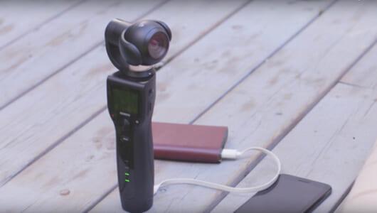 待ち遠しいカメラが出てきた! 3軸ジンバルで手ブレを徹底的に抑えるスティック型カメラ「Removu K1」