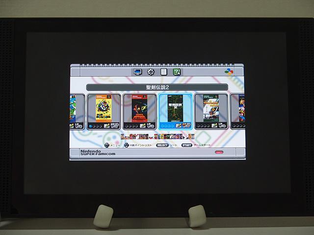 ↑720pの映像をそのまま(「ドットバイドット」で)出力すると、モニター全体に対して画面が小さく表示されます