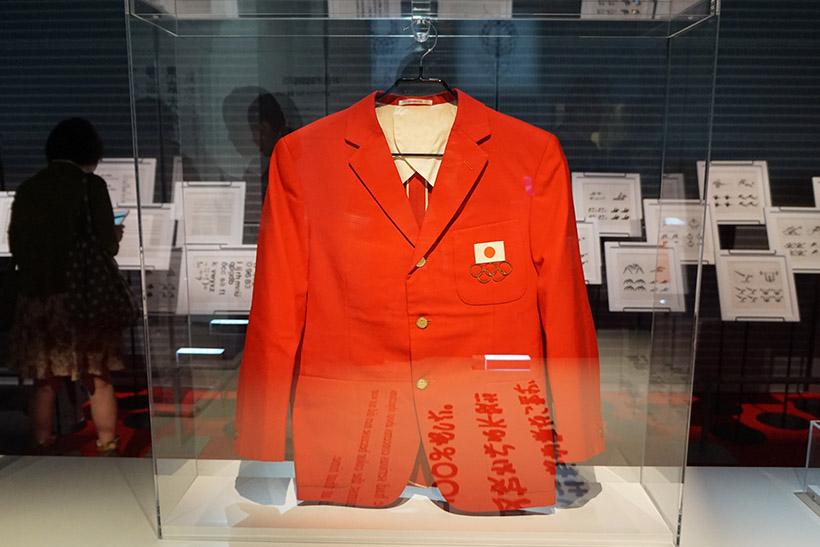 ↑日本選手団が開会式で着用したジャケット