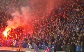 アイスランドが悲願のW杯初出場! 試合直後に見せた「手拍子」がアツすぎる