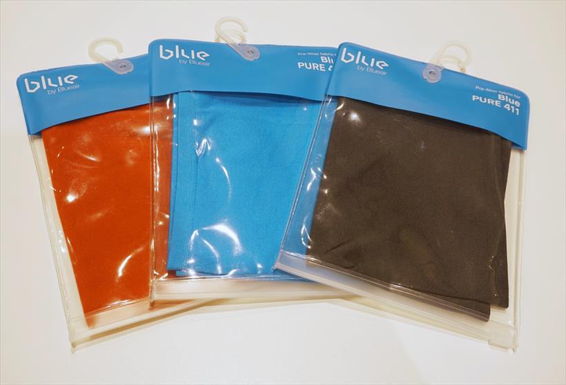 ↑プレフィルターは個別販売しているので、3色揃えて、インテリアや気分に合わせて取り替えて使うことも可能。価格は1つ1000円(税別)です