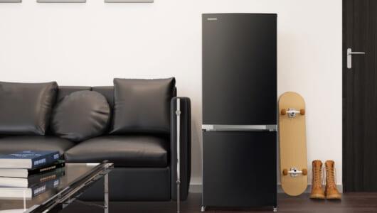 「冷蔵庫は見た目が9割」でもいいんじゃない? 東芝、単身者向けのハイデザインモデルを発売