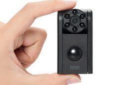 手軽にホームセキュリティ! 暗闇でも撮影可能な約1万円の屋内用防犯カメラ
