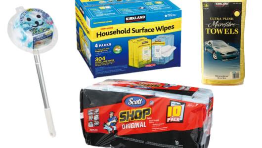 【コストコ】人気ブロガーは「拭いたそばから乾く」あのタオルをイチオシ! リピ買いすべき「掃除用品」ベスト4
