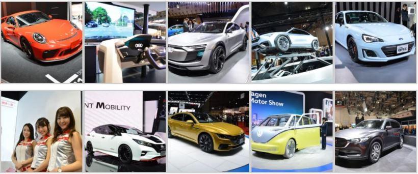 東展示棟には国内外メーカーのコンセプトカーや日本初公開となる最新モデルを多数展示。各ブランドのイメージやモデルのコンセプトを表現した演出にも注目したい。