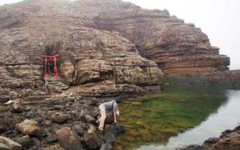壱岐の聖域・剣の池。