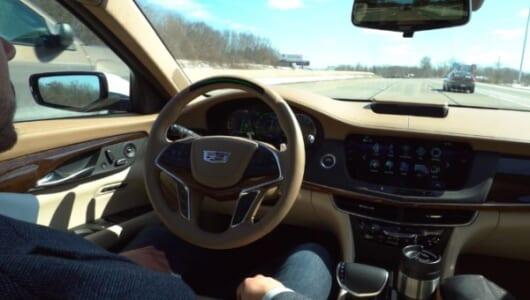 「スーパークルーズ」の実用度は? キャデラックが自動運転でのアメリカ大陸横断に挑戦!