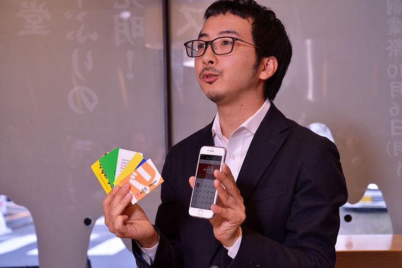↑スマホサイフを運営する「CCCマーケティング株式会社」の坂さん