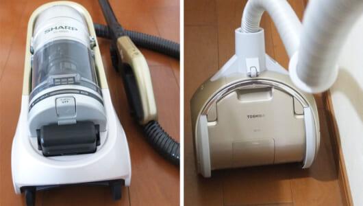【7項目徹底比較】キャニスター掃除機は「過去の遺物」じゃない! 東芝/シャープ2大モデルが示したコードレスの可能性