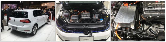 日本でもすでに受注開始となっているゴルフ初のフルEV。200Vの普通充電とチャデモの急速充電に対応。35.8kWhの総電力量を持つリチウムイオン電池を搭載し、最大の航続距離は301㎞という。モーターの出力とトルクはそれぞれ136㎰と290Nm。価格は4,990,000円。