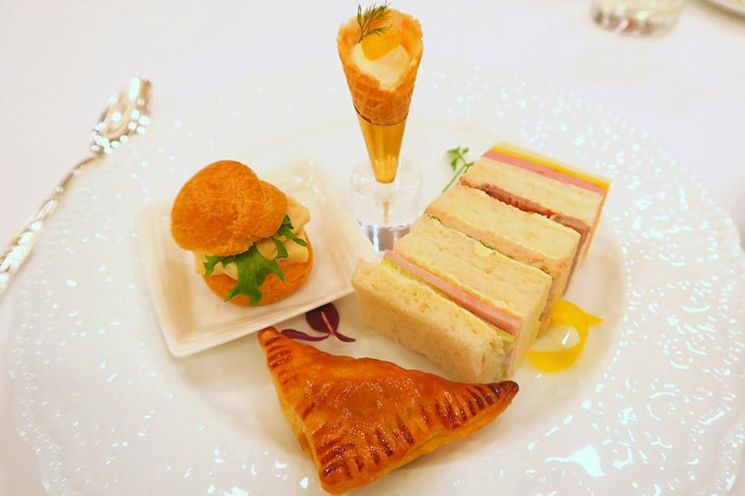 ↑とくに、チーズを使ったフィンガーフードとの相性が良く、乳製品とミルクティーの組み合わせの素晴らしさに気付かされた