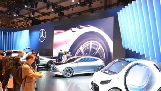 東京モーターショー2017|メルセデスの未来図はEVとAIを融合させた「EQ」を2022年までに10モデル投入