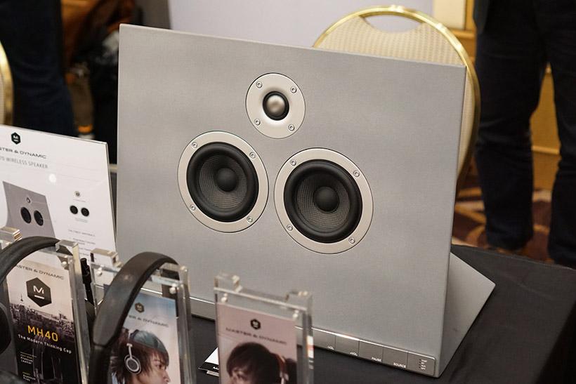 ↑Master & Dynamic初のワイヤレススピーカー「MA770」