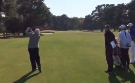 これが「ゴルファー・トランプ大統領」だ!来日中のラウンドの様子を自ら公開
