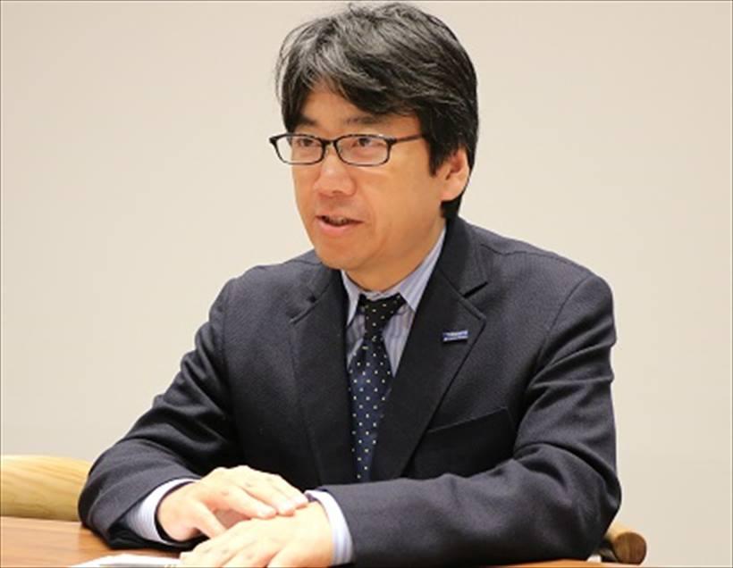 ↑東レ株式会社 GO事業部 GO戦略開発グループ主幹 堀野哲生氏