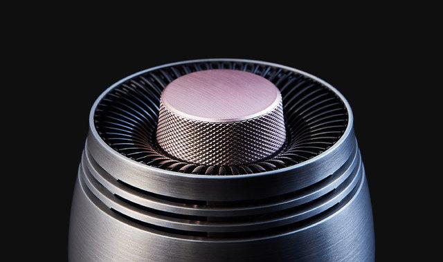 出典画像:「優れた高音質を体験! 真空管BLUETOOTH スピーカー【VISOR-ROM】」Makuake より