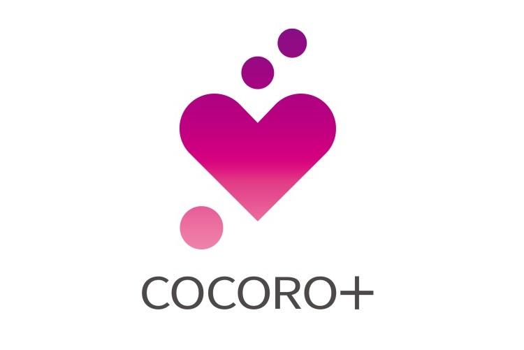 ↑「COCORO+」のロゴマーク