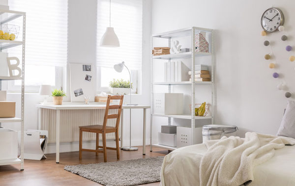 48454509 - picture of new room with vintage wood chair