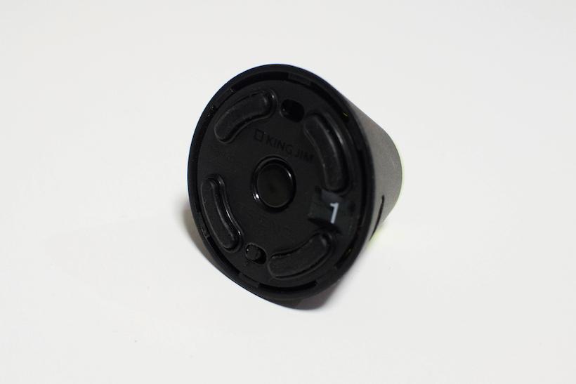 ↑底面部に主電源スイッチと電源ボタンが備わる