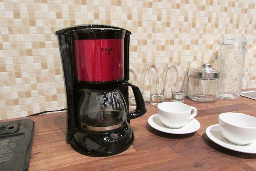 ↑アレクサに頼んでコーヒーメーカーでコーヒーを淹れてもらうことも可能