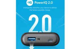 最新技術「PowerIQ 2.0」で機器にあわせてすばやく充電! 進化したモバイルバッテリー「Anker PowerCore II」