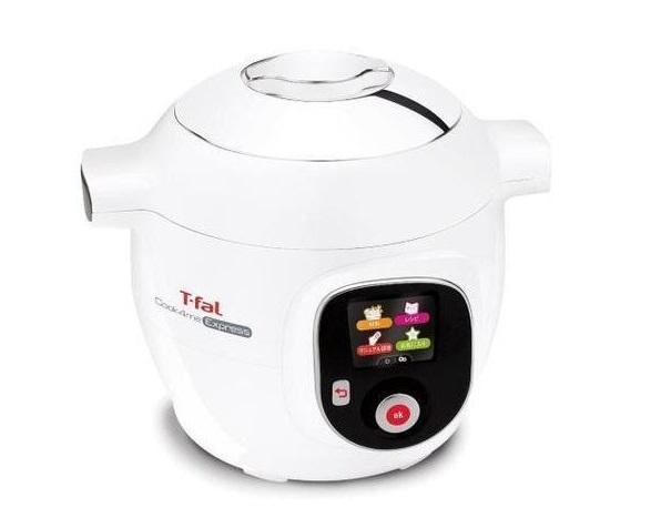 ↑グループセブ ジャパンが2017年10月に発売したティファールの「Cook4me Express」